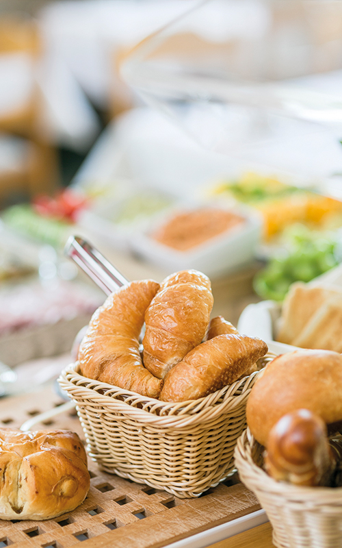 Frühstück im Hotel Sonne